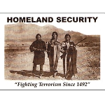 VW16 - Homeland Security 1492 Postcard