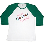 WT007 - Rainbow Coexist Foil 3/4 length long sleeve Women's T-Shirt