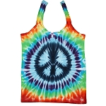 WT015 - Tie Dye Peace Sign Women's Fitted Tank Top