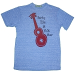WT017 - Party Like a Folk Star Women's Fitted T-shirt