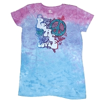 WT028 - Peace Out Womens Fitted T-Shirt