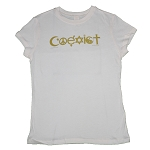 WT103 - Coexist Women's Fitted Organic Cotton T-Shirt
