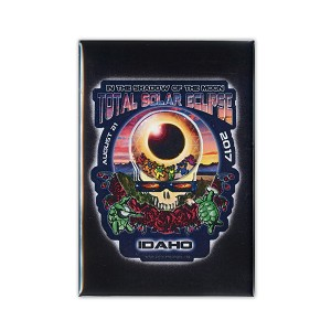 FMEC012 - Eclipse Your Face Grateful Dead Total Solar Eclipse 2017 Fridge Magnet -  Idaho
