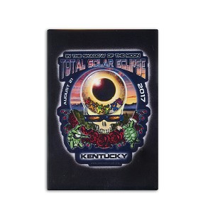 FMEC019 - Eclipse Your Face Grateful Dead Total Solar Eclipse 2017 Fridge Magnet - Kentucky
