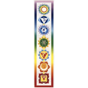 A060 - Colorful Chakra Sticker Art Decal Window Sticker