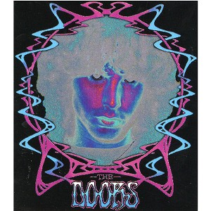 A320 - The Doors Art Decal Window Sticker