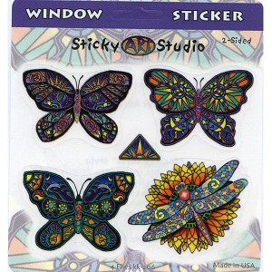 A326 - Kemmerling Butterflies Art Decal Set