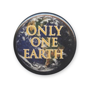 B442 - Only One Earth Button