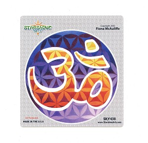 CS156 - Flower of Life - Om Sticker