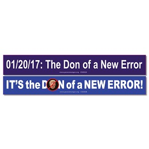 CS282PK - Its the DON of a NEW ERROR Color Sticker 2-Pack