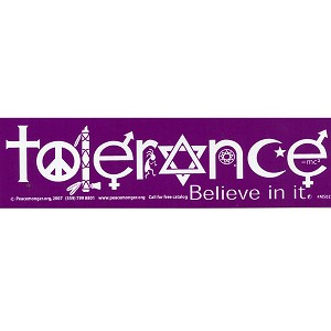MS002 - Tolerance Mini Sticker