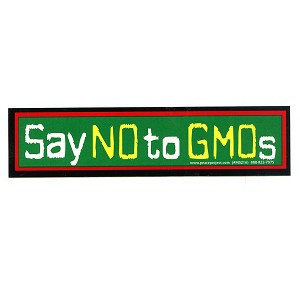 MS237 - Say No to GMOs Mini Sticker