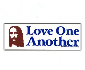 MS39 - Love One Another Mini Sticker