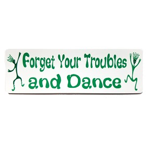 MS85 - Forget Your Troubles Mini Sticker