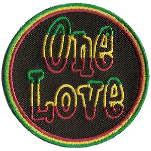 P219 - Rasta One Love Patch