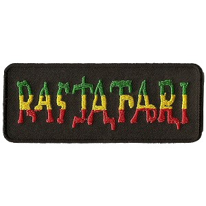 P227 - Rastafari Rectangle Patch