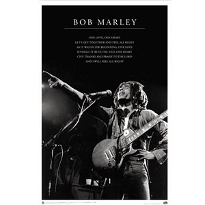 PS006 - Bob Marley One Love Poster