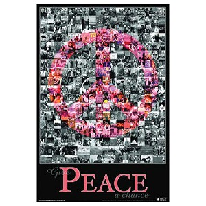 "PS007 - Give Peace a Chance 22"" x 33"" Poster"
