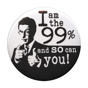 B077 - I am the 99%, and so can you! Stephen Colbert Button