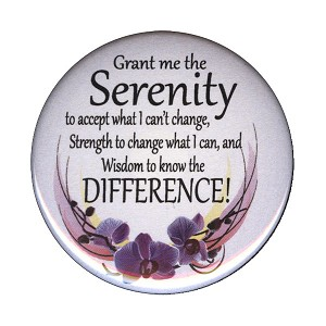 B142 - Serenity Prayer Button