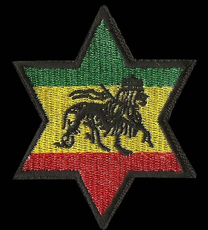 P197 - Rasta Star Patch