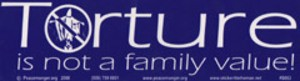 S063 - Family Value Large Bumper Sticker