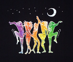 T060 - Rainbow Dancers T-Shirt