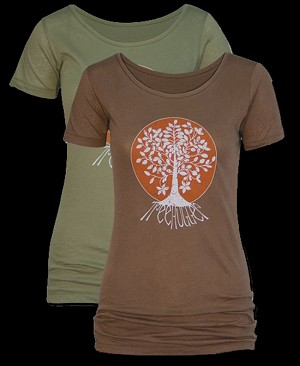 WT019 - Treehugger Organic Cotton Women's Fitted T-shirt