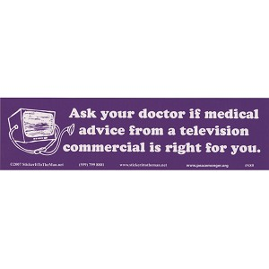 S080 - Ask Your Doctor Bumper Sticker