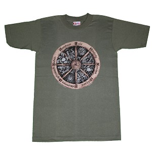 T051 - Pagan Wheel Shirt