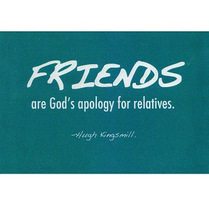 VW08 - Friends: Gods Apology Postcard
