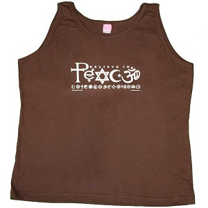 WT006 - Believe in Peace Women's Tank Top
