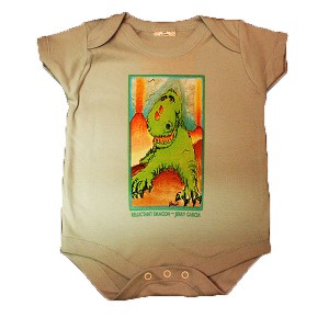 I20LB1Z - Reluctant Dragon by Jerry Garcia Infant Onesie